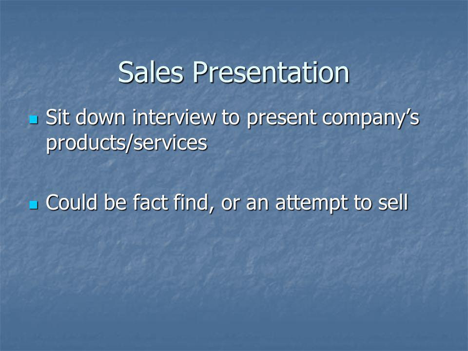 Selling Calls: Sales Presentations 06 Actual: 38 –> 27 ( 1 ->.71) 06 Actual: 38 –> 27 ( 1 ->.71) Standard: 30 –> 20 (1 ->.667) Standard: 30 –> 20 (1 ->.667) Actual is above Standard Actual is above Standard Not a deficient area for Pat Not a deficient area for Pat
