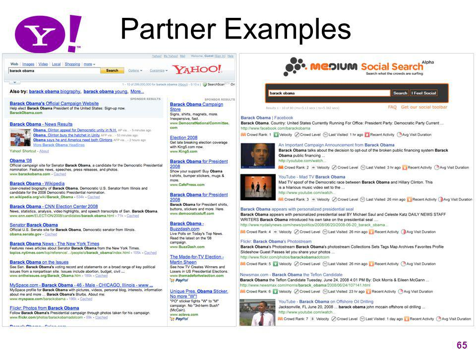 65 Partner Examples