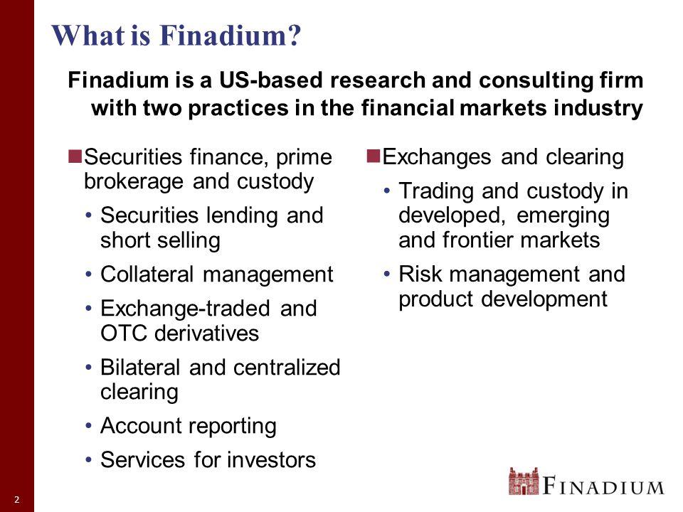 2 What is Finadium.