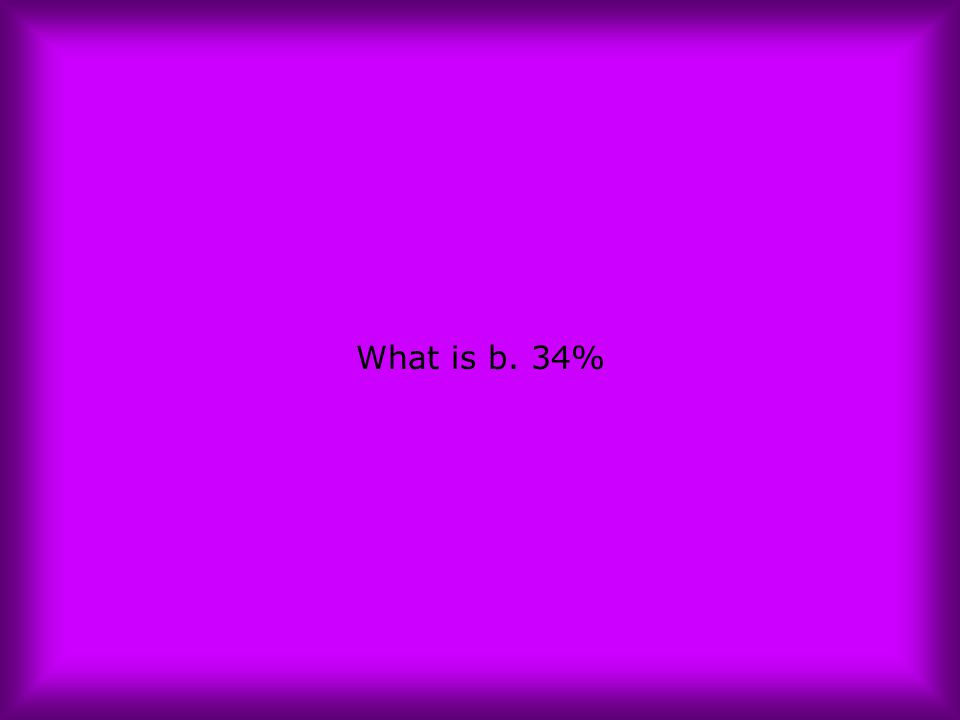 What is b. 34%