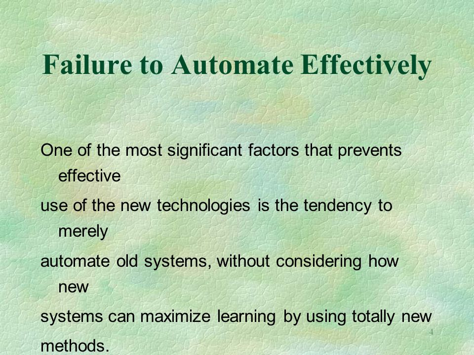 5 Changing Administrative Systems Changes in program delivery systems are also creating significant changes in administrative systems including: 1.