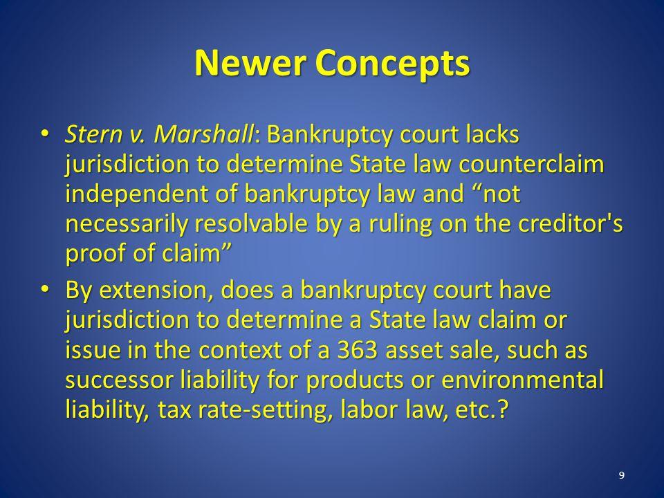 Newer Concepts Stern v.