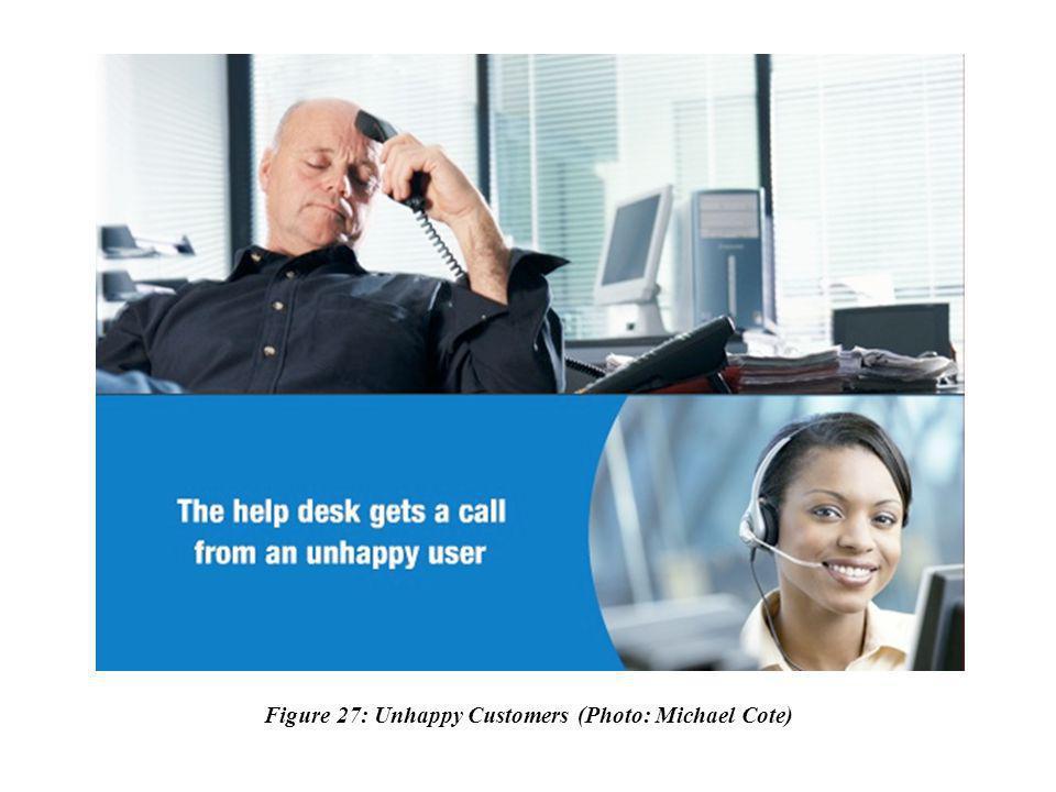 Figure 27: Unhappy Customers (Photo: Michael Cote)