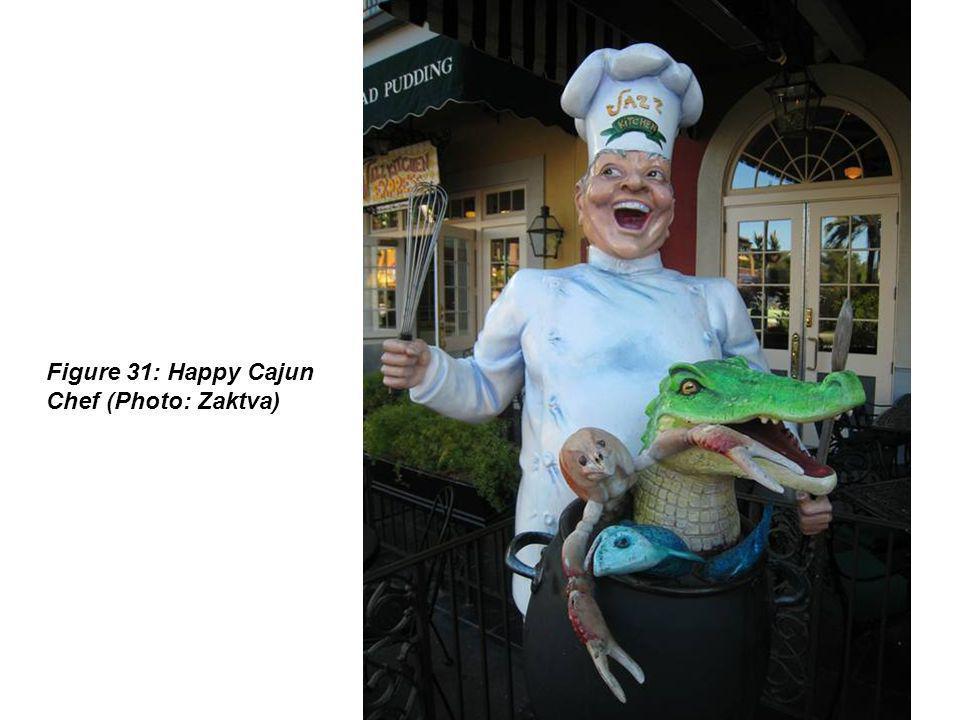 Figure 31: Happy Cajun Chef (Photo: Zaktva)