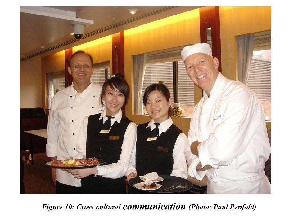Figure 10: Cross-cultural communication (Photo: Paul Penfold)