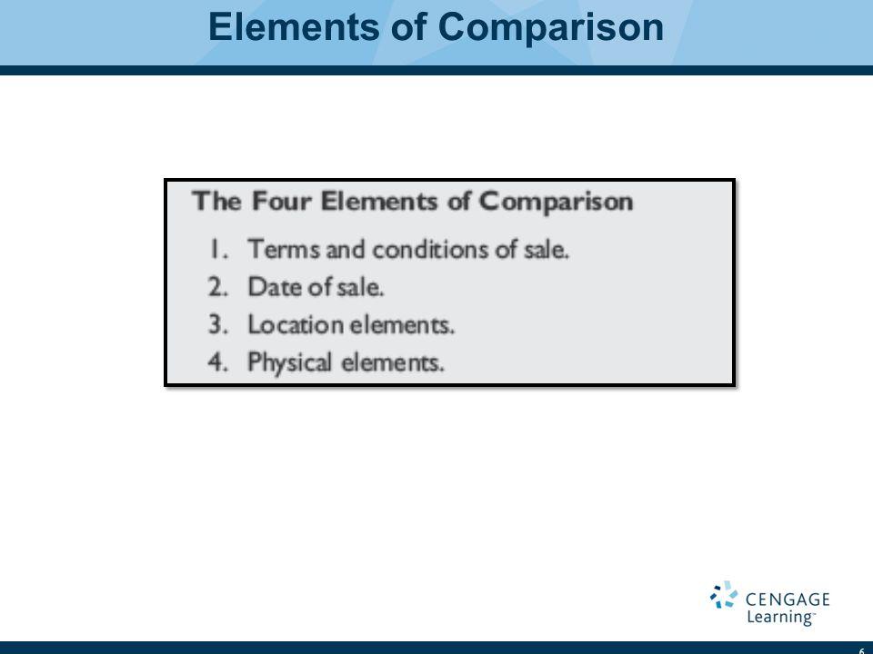 Elements of Comparison 6