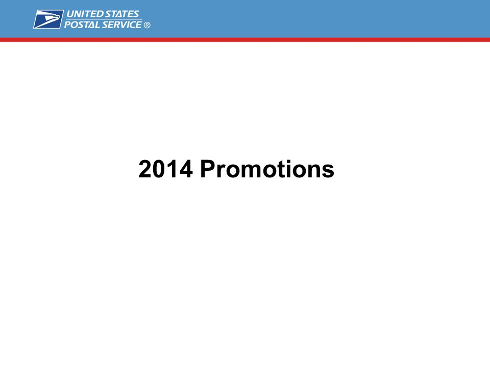 2014 Promotions
