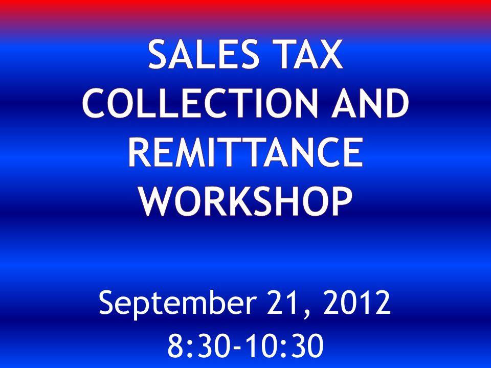 September 21, 2012 8:30-10:30