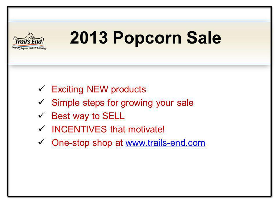 Exciting NEW products Simple steps for growing your sale Best way to SELL INCENTIVES that motivate.