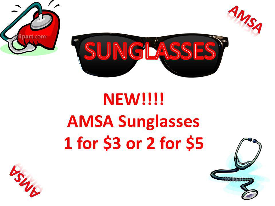 NEW!!!! AMSA Sunglasses 1 for $3 or 2 for $5