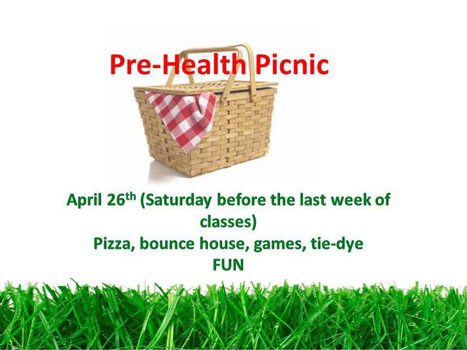 Pre-Health Picnic