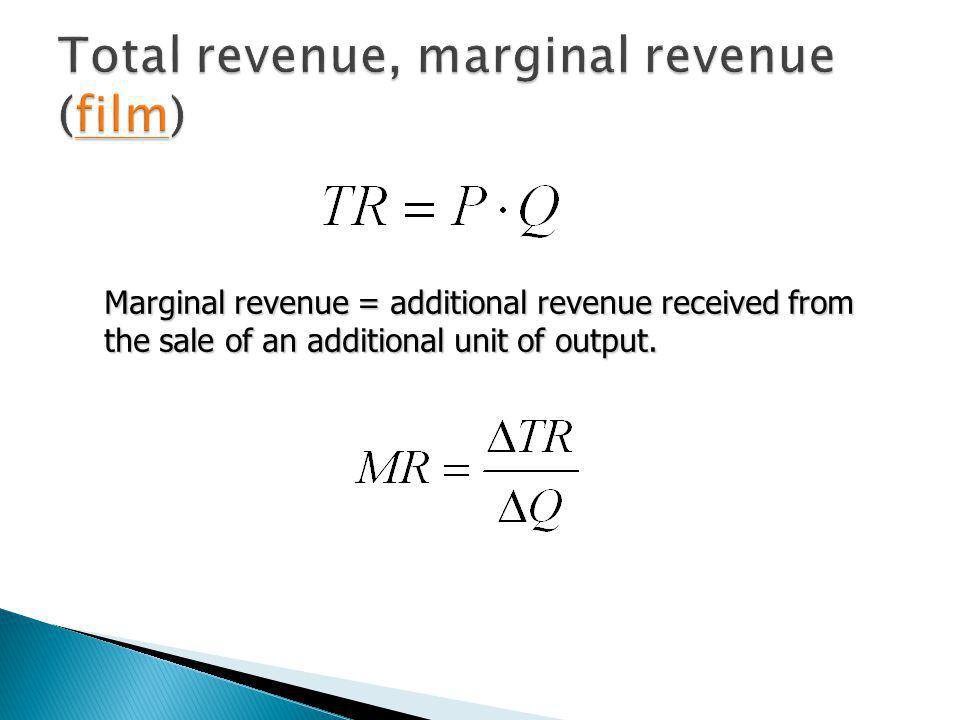 Economic profit = total revenue - economic costs when output rises, both total revenue (till it takes maximum value) and total costs increase when output rises, both total revenue (till it takes maximum value) and total costs increase profits increase when output increases if total revenue rises by more than total costs.