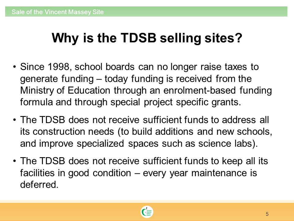 26 Sale of the Vincent Massey Site Source: Etobicoke Zoning By-Law Existing Zoning