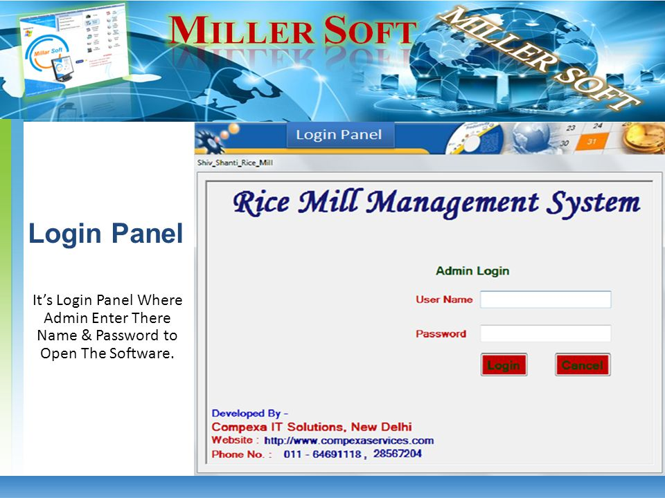 Its Sale Invoice Bill Which is Automatic Generated. Sale Invoice Bill Rice Mill Management System