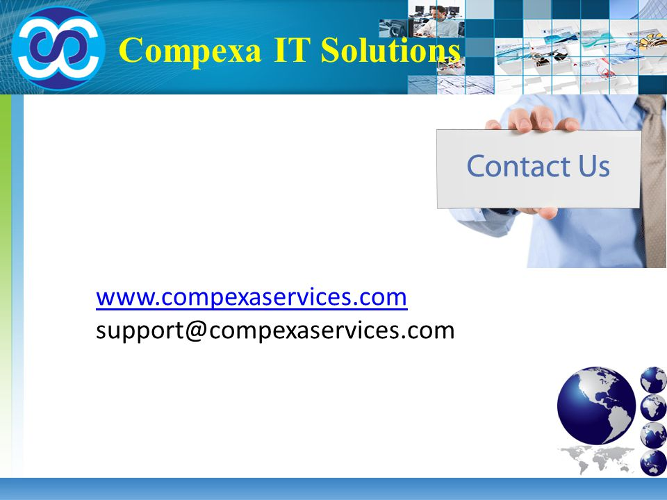Compexa IT Solutions www.compexaservices.com support@compexaservices.com