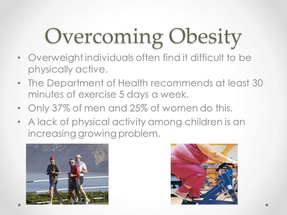 overcoming obesity Overcoming obesity, lubbock, texas 422 likes today is the day to take a step toward improving your health and making goals for your fitness join me on.