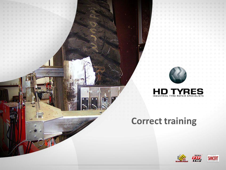 Correct training