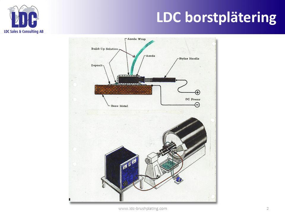 www.ldc-brushplating.com2 LDC borstplätering
