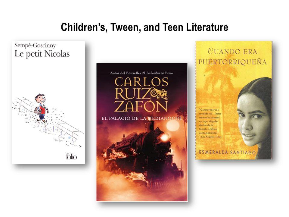 Childrens, Tween, and Teen Literature
