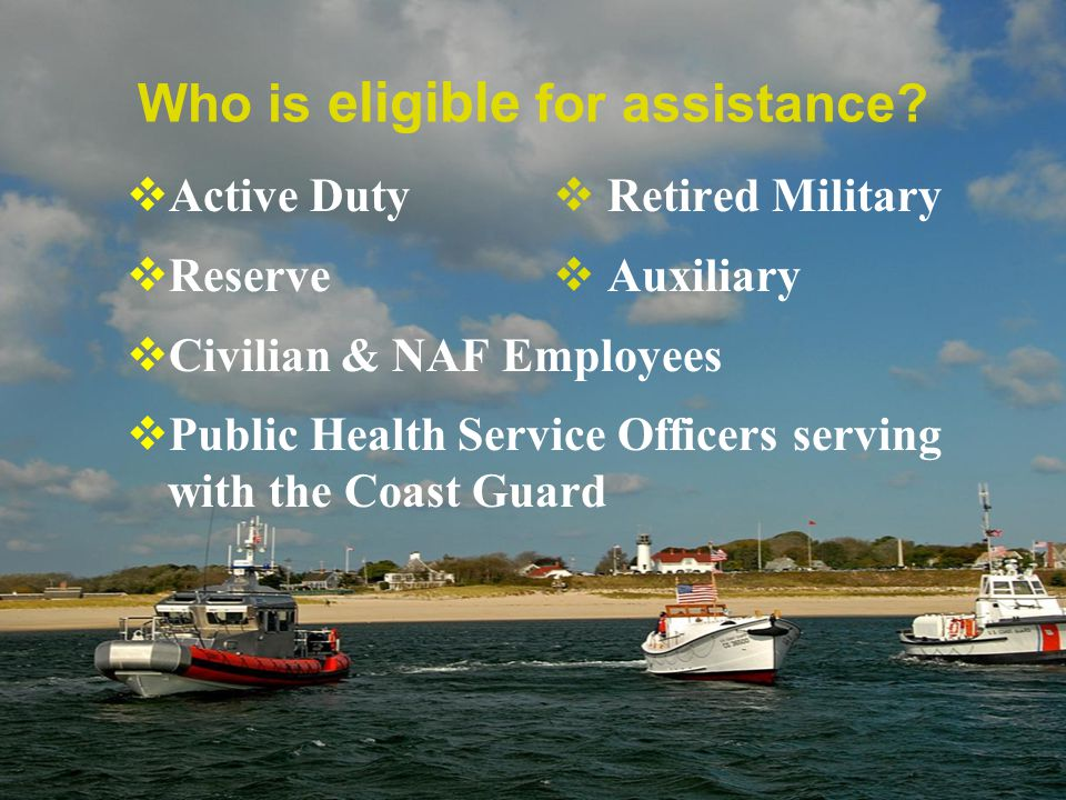 Who is eligible for assistance.