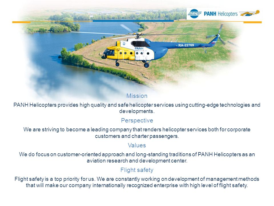 Pipeline and power transmission line operators commonly call for PANH Helicopters aircraft to perform aerial monitoring of their facilities in order to maintain high operational safety level.
