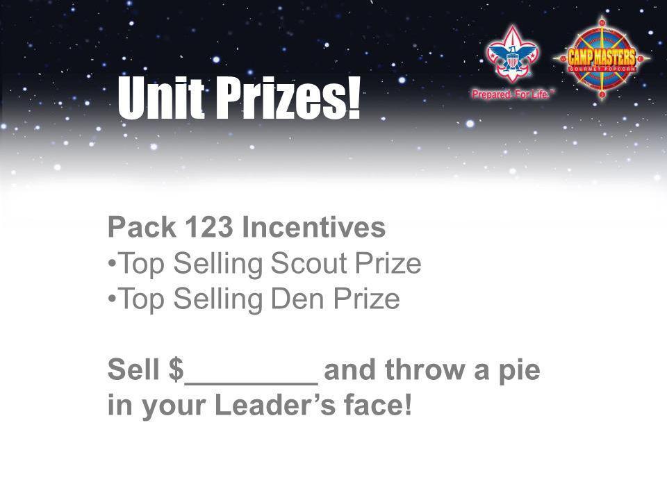 Unit Prizes.