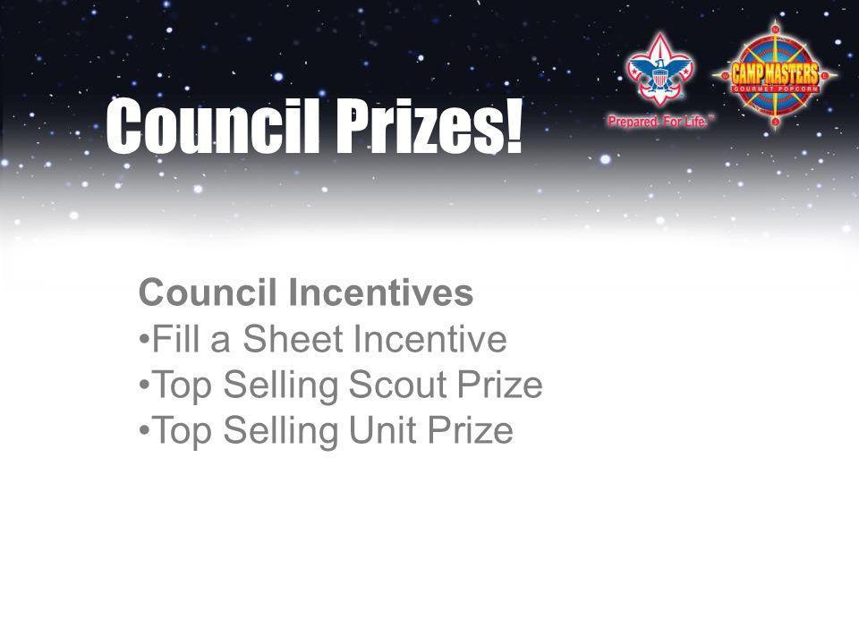 Council Prizes.