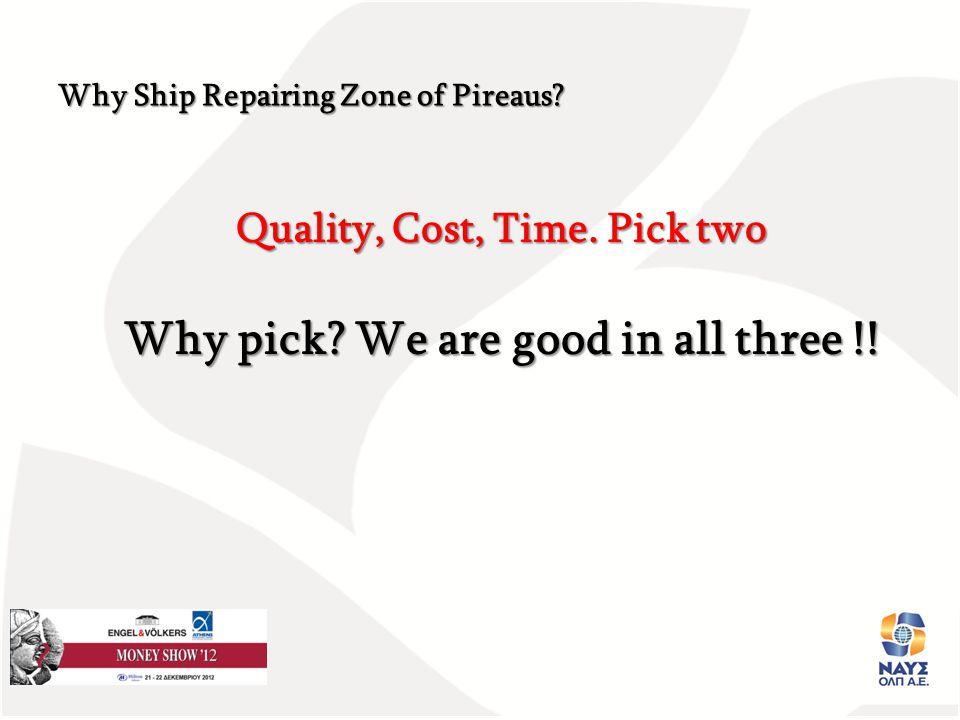 Παρουσιαση Έργου ΝΑΥΣΟΛΠ Α.Ε. Ημε Quality, Cost, Time.
