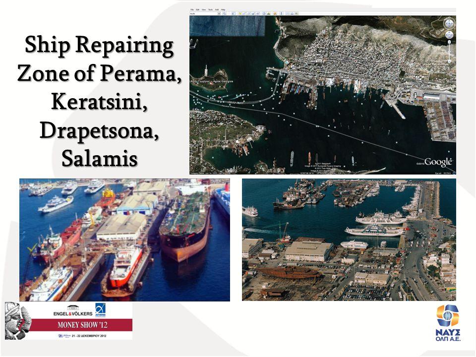 Παρουσιαση Έργου ΝΑΥΣΟΛΠ Α.Ε. Ημε Ship Repairing Zone of Perama, Keratsini, Drapetsona, Salamis