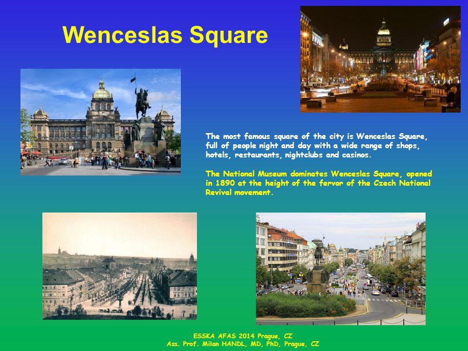Wenceslas Square ESSKA AFAS 2014 Prague, CZ Ass.Prof.