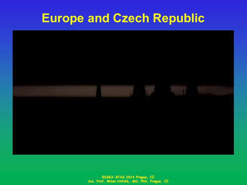 Europe and Czech Republic ESSKA AFAS 2014 Prague, CZ Ass. Prof. Milan HANDL, MD, PhD, Prague, CZ