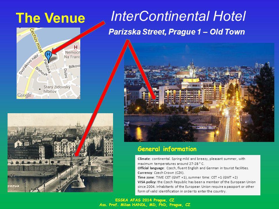 The Venue InterContinental Hotel ESSKA AFAS 2014 Prague, CZ Ass.