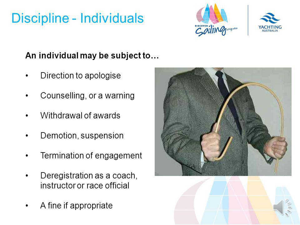 Disciplinary Measures Disciplinary options must be...