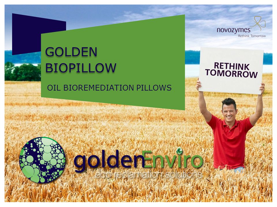 AROMATICS REMOVAL Golden bioPillow Reduces aromatics by 92 percent