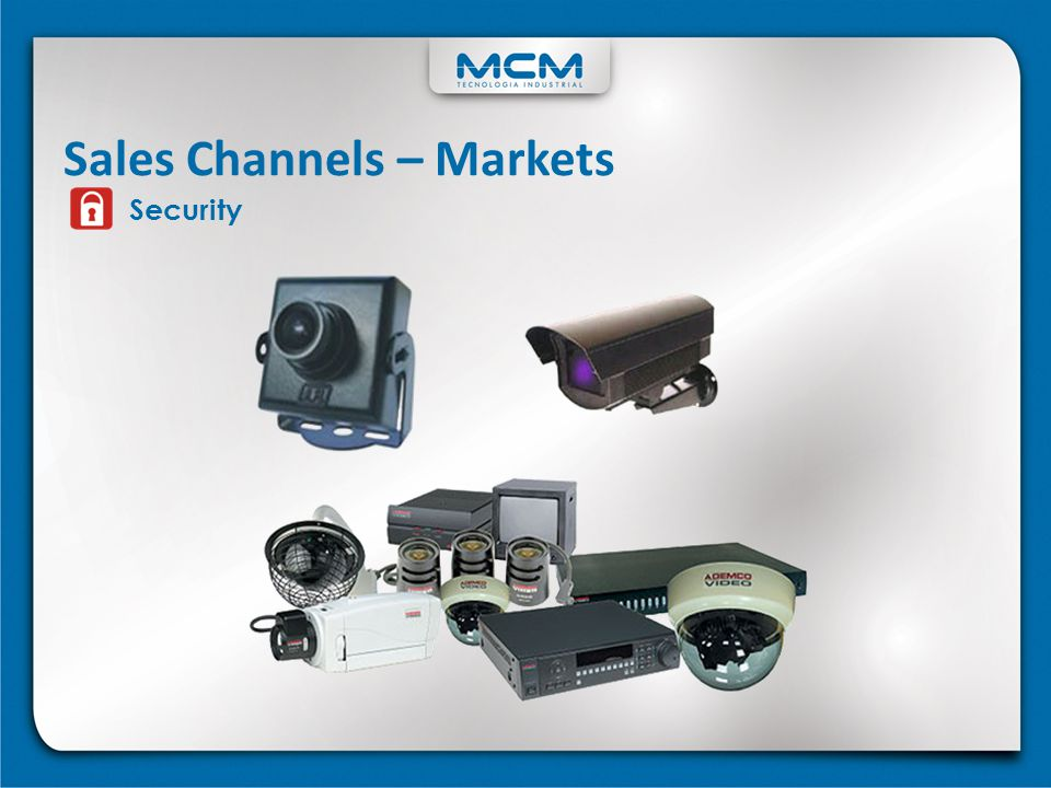 Security Sales Channels – Markets