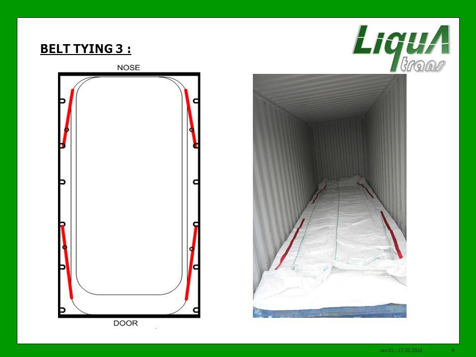 BELT TYING 3 : rev 01 - 17.02.20129