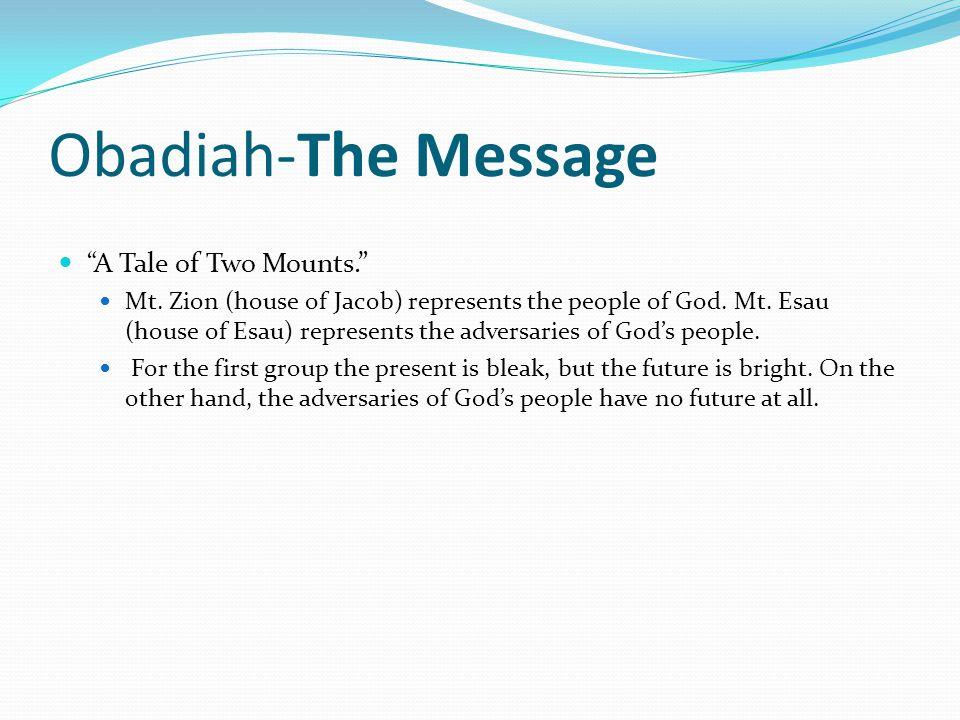 Zechariah The Message.4 parts: (1) Exhortation of return to me, Zec 1:1–6.