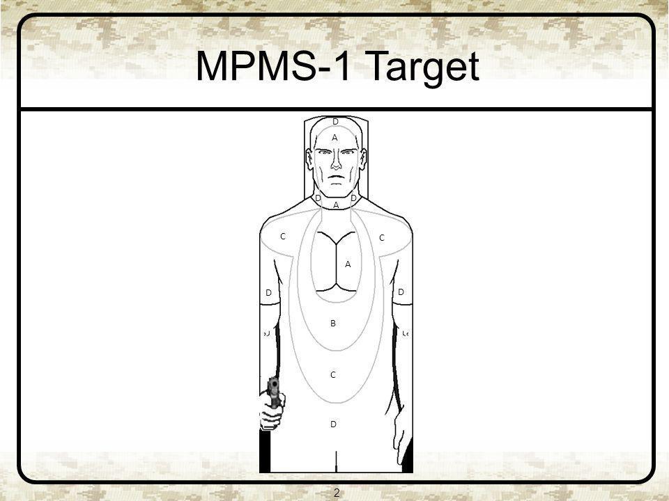 2 MPMS-1 Target A D D D A D D C C B C A D