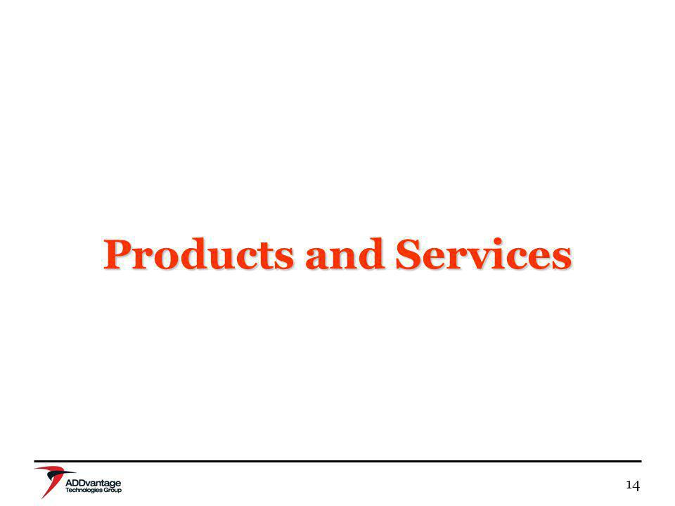 14 Products and Services