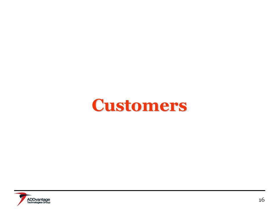 16 Customers