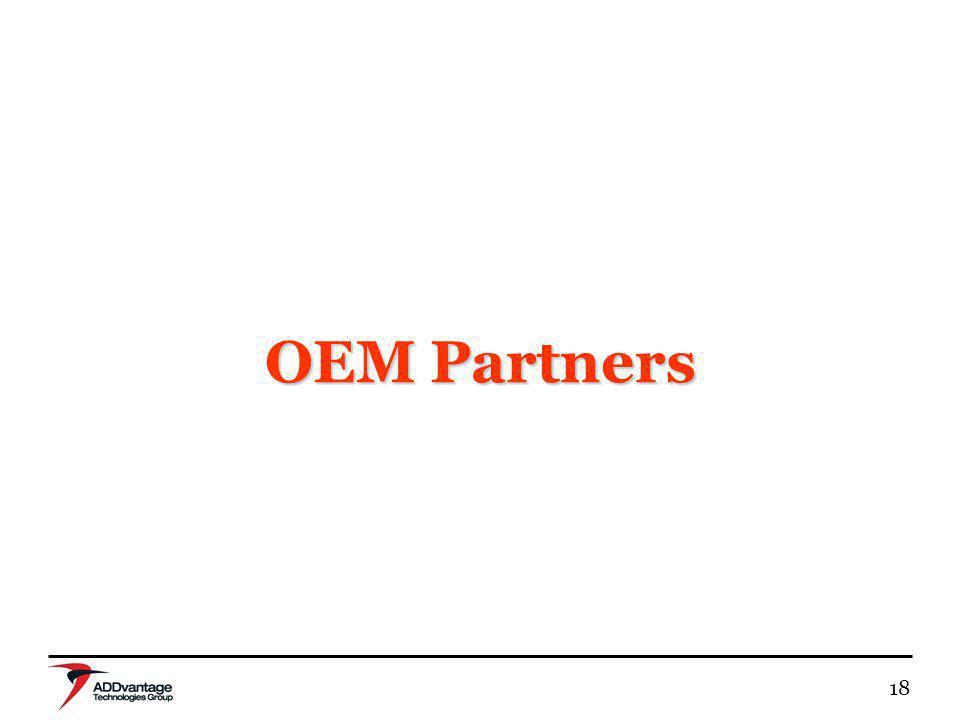 18 OEM Partners