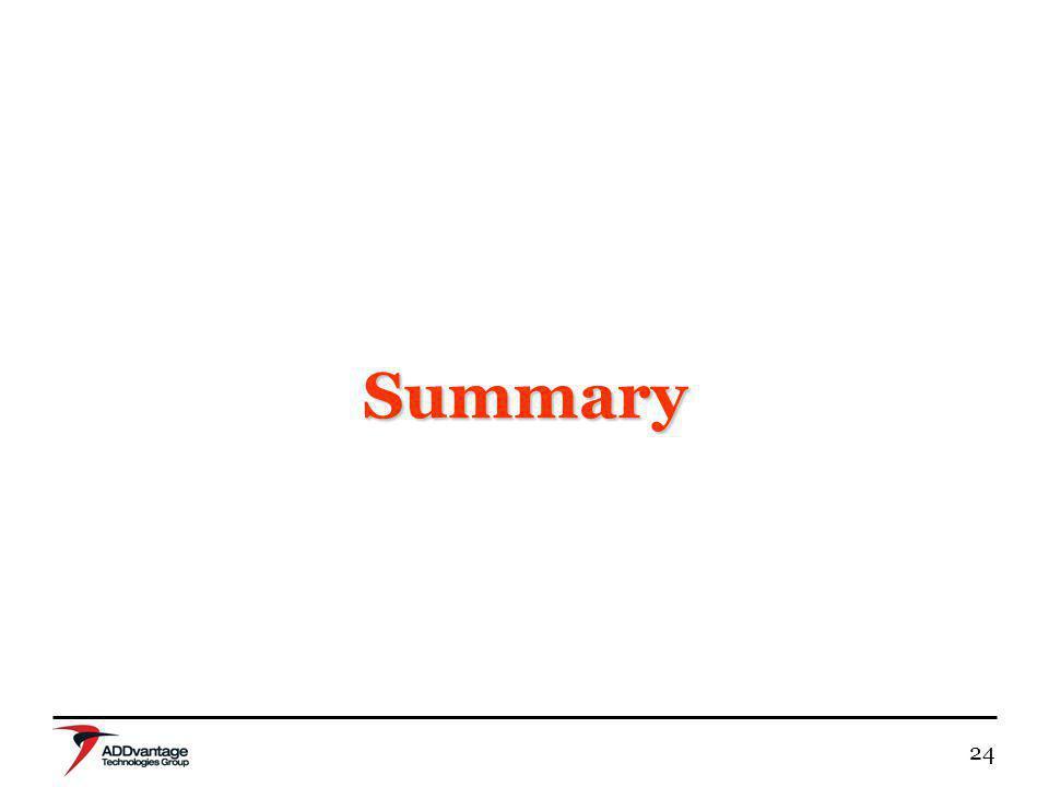 24 Summary