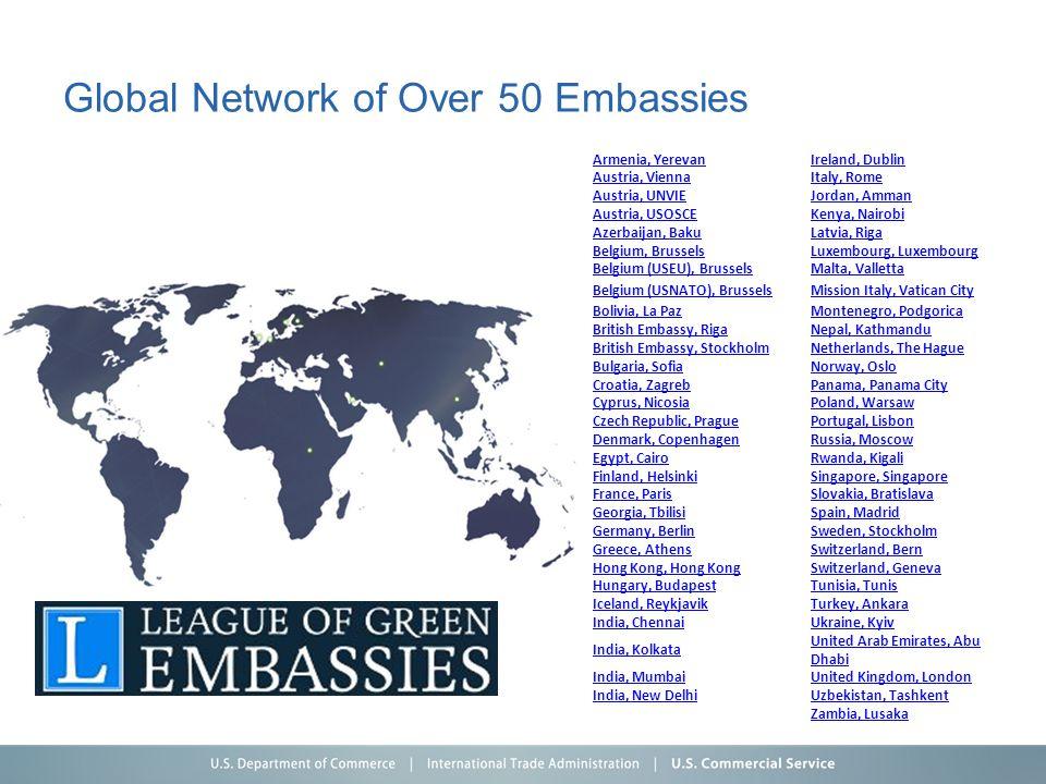 Global Network of Over 50 Embassies Armenia, YerevanIreland, Dublin Austria, ViennaItaly, Rome Austria, UNVIEJordan, Amman Austria, USOSCEKenya, Nairo