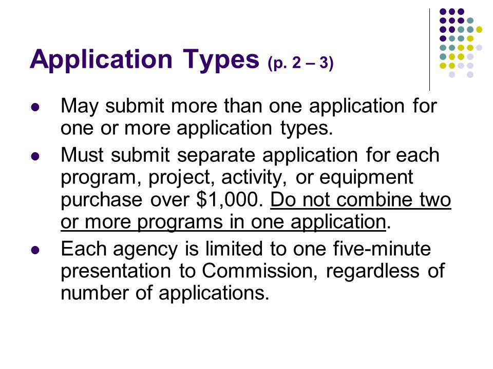 Application Types (p.