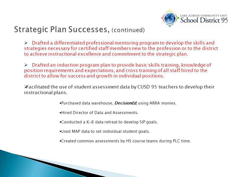 Continuouslearners Revised and implemented the Educational Support Personnel (ESP) Evaluation Plan.