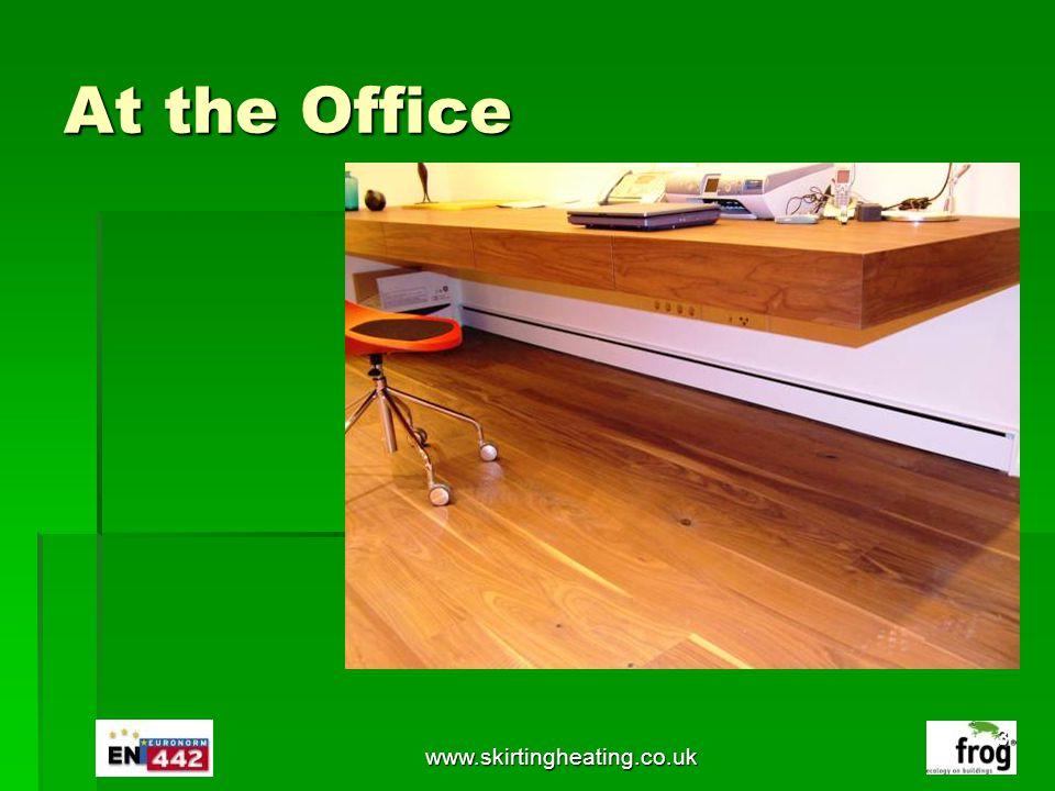 www.skirtingheating.co.uk Availability Call Technology Marketing Management +44 208 144 9597 or + 357 991 999 73 Email: sales@tmm.eu.com sales@tmm.eu.com 34