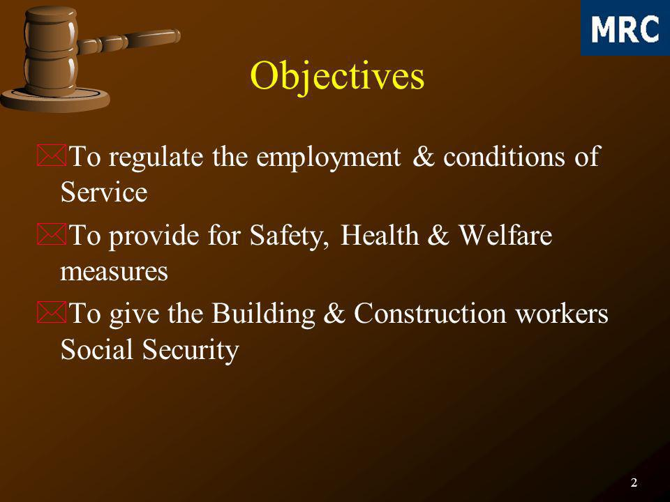 33 *Building worker who is employed for a work involving risk or hazards as the Director General considers appropriate shall be medically examined *Every operator of a crane, winch or other lifting appliances, transport equipment or vehicle shall be medically examined and again periodically *No building worker shall be charged for medical examination *Record of such medical examination shall be maintained Medical examination of building workers