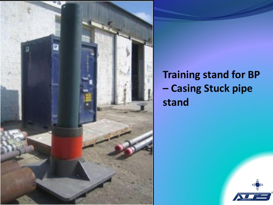 Training stand for BP – Casing Stuck pipe stand