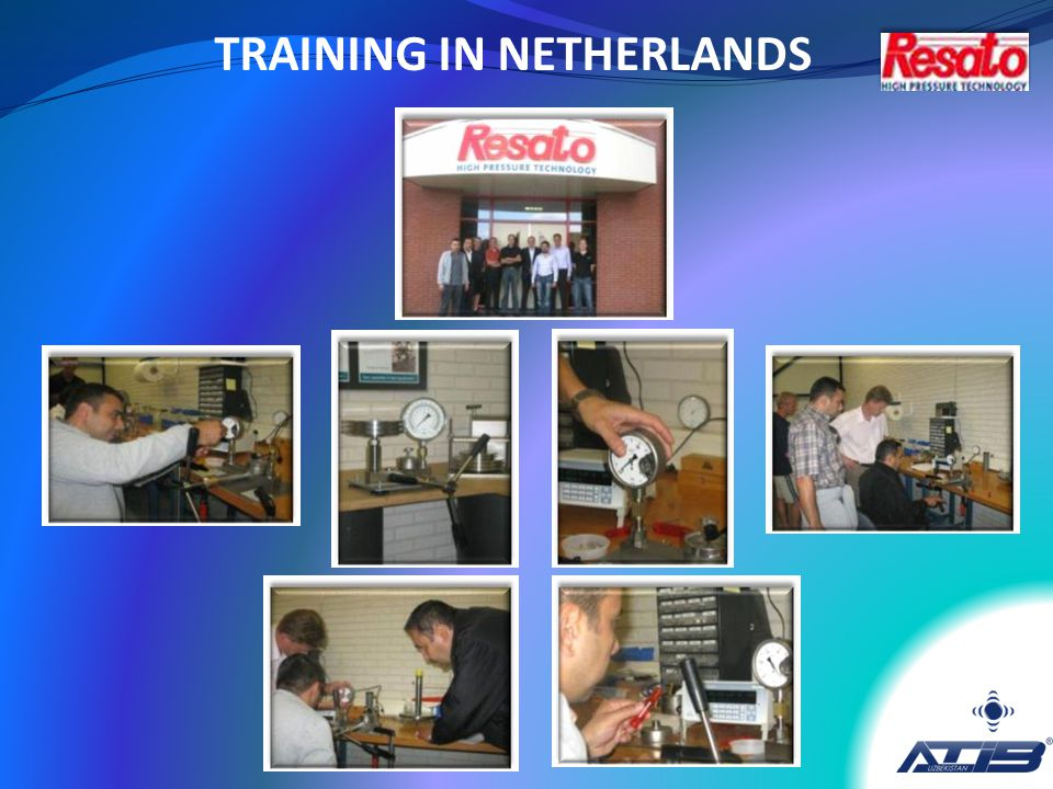 TRAINING IN NETHERLANDS