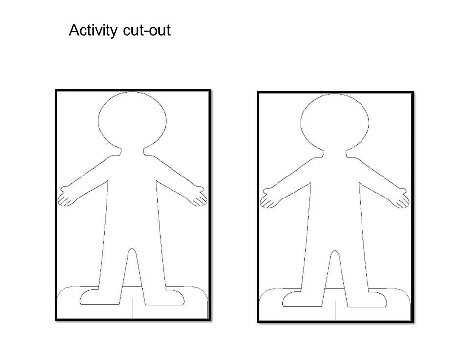 Activity cut-out